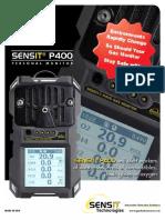 Sensit p400 Brochure