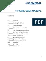 Ge3000 Sofware Manual