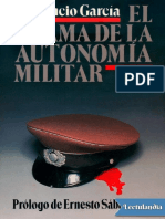 El Drama de La Autonomia Militar - Prudencio Garcia Martinez de Murguia