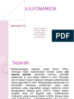 KELOMPOK 10_SULFONAMIDA