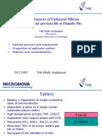 Silicon Epitaxial process