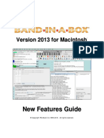 Band-In-A-Box 2013 Mac Upgrade Manual