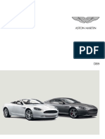 Astonmartin Brochure Db9 Germanψφδφ