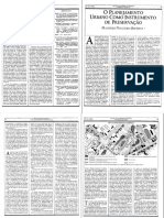 Planejamento urbano como instrumento de preservação