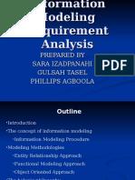 Information Modeling Analysis