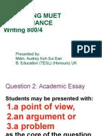 Madam Audreys Notes Task 2