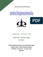 BronchoPneumonia Dina
