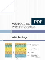 Mud Logging and Wireline Logging