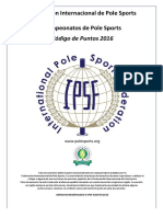IPSF Codigo de Puntos 2016-17 Español