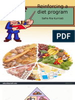Reinforcing a Diet Program