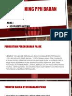 Tax Planning Pph BaDAn