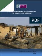 Crime Against Humanity in Western Burma, 2010 by ICHR
