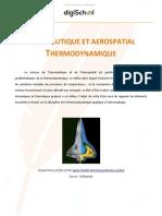 Cours d'Aéraunautique Et Aérospatial - Thermodynamique