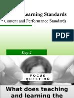 5. Grade 8 Learning Standards
