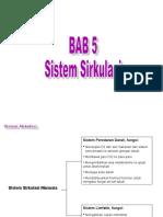 BAB 5 Sistem Sirkulasi