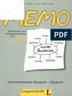 Zertifikat Deutsch Memo Lernwortschatz