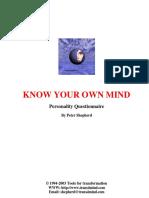 Know ur own mind.pdf