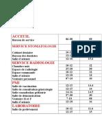 Programme d'Une Polyclinique