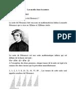 Matematica în natură (les maths dans la nature)