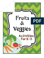 Fruit and Vegetable Activities