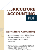Agriculture Acctg
