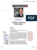 Alan Stang -- Yankee Genocide Still Here