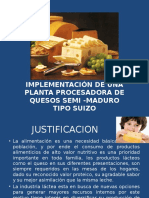 Implementación de Planta Quesera