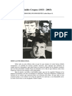 Carlos Reyes - Reseña Sobre Guido Crepax