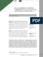 Democracia Y Ciudadanía En America Latina.pdf