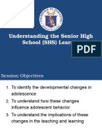 04262015 Understanding SHS Learner NTOT