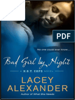 1.- Bad Girl by Night - Serie H.O.T. Cops - Lacey Alexander