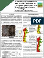 evaluacion de los servicioes ecosistemicos de mitigacion de inundaciones y movimientos en masa y purificacion del aire