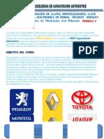 Temario Programacion de Llaves Con Chip Modulo 2 en El Cecape