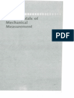 Fundamentals of Mechanical Measurements