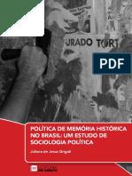 Política de Memória Histórica no Brasil