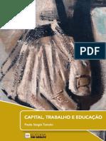 Capital, trabalho e educação