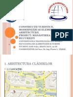 Construcţii Turistice, Modernzări Şi Elemente de Arhitectură