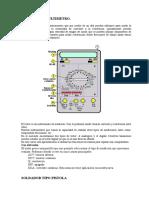 El Tester o Multimetro (Herramientas de un electirco)