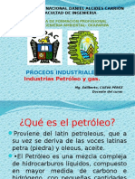 Industria Del Petroleo y Gas.