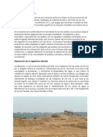 Impactos de La Minerial Ilegal en Madre de Dios.