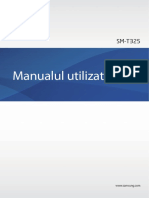 SM T325 Manual