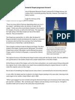 Chapel Story FINAL Scribd PDF