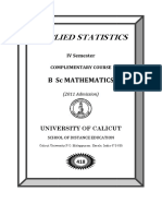 IV Comple Applied Stat i