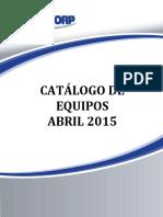 Catálogo de Equipos