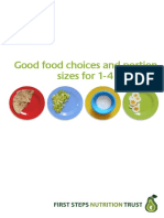 Good Food Choices and Portion Sizes 1-4 for Web