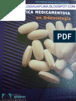 TERAPEUTICA MEDICAMENTOSA EN ODONTOLOGIA
