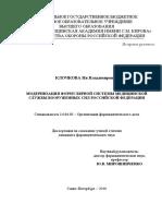 Диссертация Клочкова ИВ ВМедА