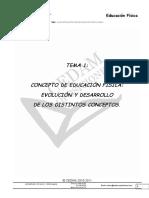 TEMA 1 educación física
