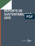 Reporte Sustentabilidad2013 Aqua Chile