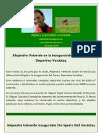 Nota de Prensa Alejandro Valverde (23!06!09)